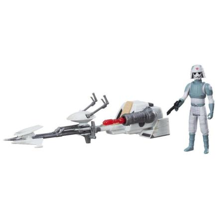 Star Wars AT-DP Imperial Speeder fartøj og figur - Only4kids