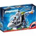 Playmobil Helikopter Politi Sæt - City Cation - Gucca