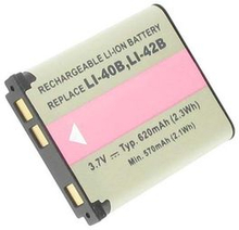 Olympus Stylus 790SW, 3.6V (3.7V), 620 mAh