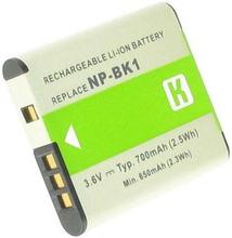NP-BK1 för Sony, 3.6V (3.7V), 750 mAh