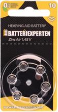Høreapparatbatteri A10/DA230/PR70 6st/pk.