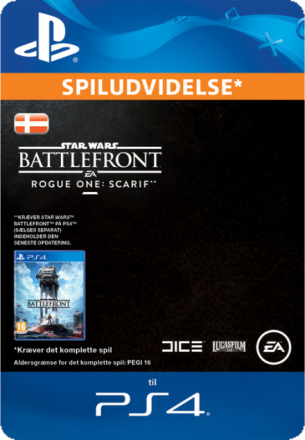 Star Wars Battlefront Rogue One Scarif (DK) - CDON.COM