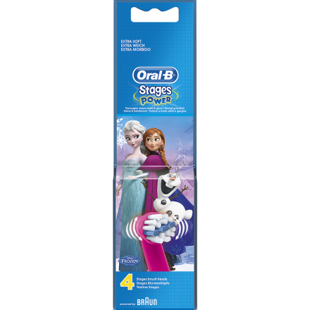 Stages Power Refill, Oral-B Tannbørster