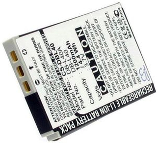 Sanyo Xacti HD1, 3.6V (3.7V), 1200 mAh