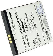 DBF-800C för Doro, 3.7V, 800 mAh