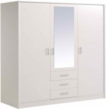 Parisot Infinity tre dør 3 skuff speilet garderobe