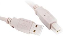 USB A til USB B-kabel L-Link LL-CA-SB-1332 Hvid