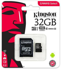 Mikro SD-kort Kingston SDCS/32GB 32 GB