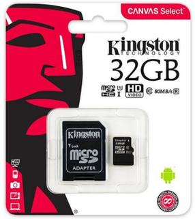 Mikro SD-kort Kingston SDCS/32GB 32 GB