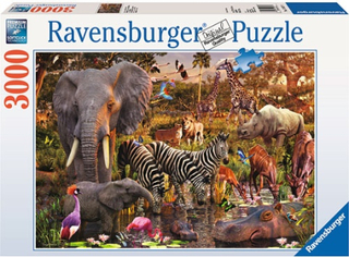 Ravensburger, Afrikanska djur, (3000)