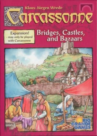 Carcassonne Bridges Castles and Bazars Utvidelse til Carcassonne Brettspillet