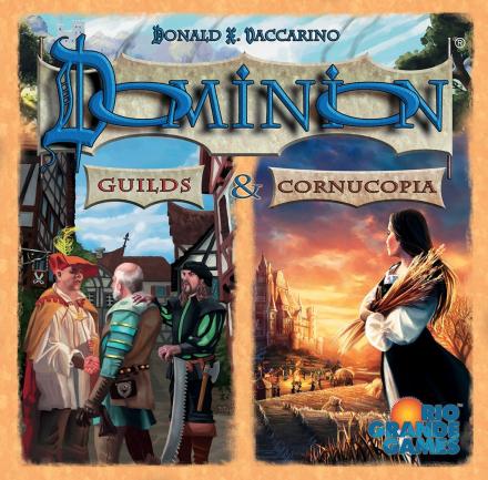 Dominion Guilds & Cornucopia Utvidelse Expansion til Dominion
