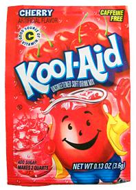 Kool Aid Lemonadepulver Kirsebær 3stk 3-Pack - Uten tilsetningsstoffer!