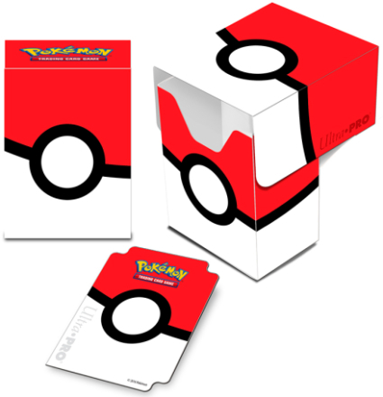 Pokemon Deck Box Full View Pokeball Plass til 82 kort m/ sleeves