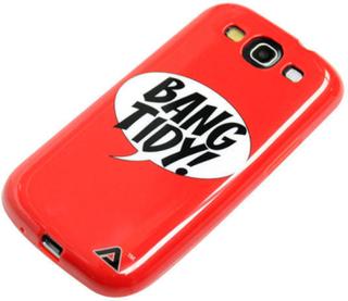 Jelli shell Bang Tidy! & Skærmbeskytter til Samsung Galaxy S3