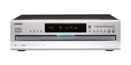 Onkyo DX-C390 CD-skifter, Sølv