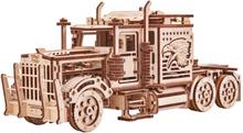 Wood Trick Eco-Wood-Art Byggmodell i trä lastbil