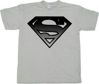 Superman Halftone Shield T-Shirt, Basic Tee