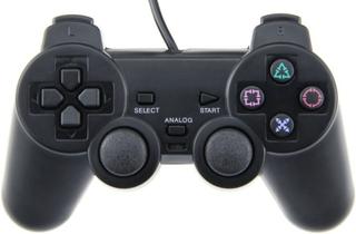 Controller til Playstation 2 (Sort)