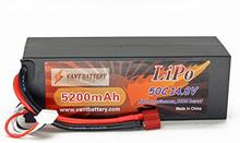 RC-Bil VANT (Li-po) batteri 5200mAh 50C 4S