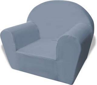 vidaXL børnelænestol grå