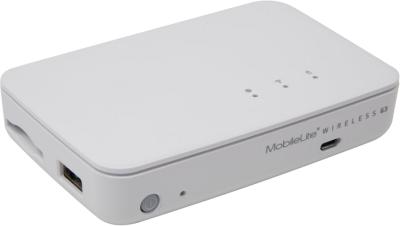Kingston MobileLite Wireless G3, 1x RJ45, SD-läsar