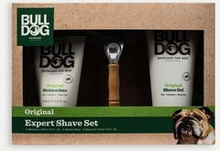 Bulldog Skäggvård Bulldog Original Expert Shave Set Vit