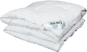 Allergivenlig dunfiber dyne - Helårs Lun - 140x200cm - Zen Sleep Drømmedynen