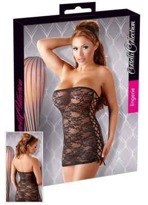 Strapless minidress (Storlek: Large)