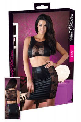 Top and Skirt Lace (Storlek: Large)