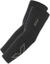 2XU Compression Flex Run Arm Sleeves black/grey XL 2019 Kompression för vader & armar
