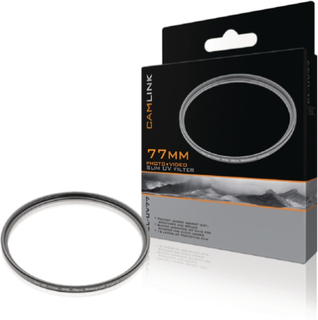 Camlink Smalt 77 mm UV-filter