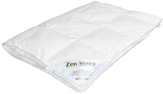 Junior sommerdyne med moskusdun -100x140 cm - Zen Sleep sval juniordyne