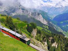 Rail away Dwars door de Alpen