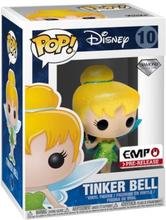 Tinker Bell - Tinker Bell (Diamanolleksjon + Glitter) - vinylfigur 10 -Funko Pop! -