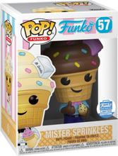Fantastik Plastik - Mister Springkles (Funko Shop Europe) Vinyl Figur 57 -Funko Pop! - multicolor