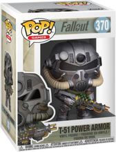 Fallout - T-51 Power Armor Vinylfigur 370 -Funko Pop! -