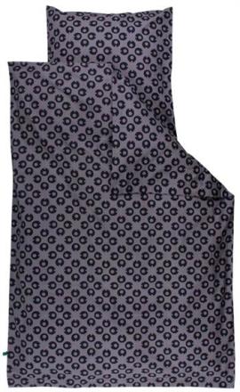 "Økologisk Baby sengetøj - Freds World - 70x100 cm - ""My I"" grå - Home-tex"