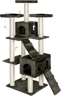 TecTake Katt klösträd / klösmöbel Knuti antracit