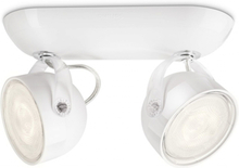 Philips myLiving LED-spotlight Dyna 2x3 W vit 532323116