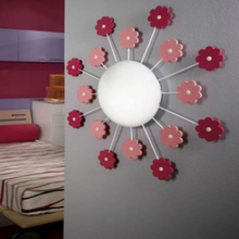 EGLO Væg-/loftsLampe VIKI 1 pink 92147