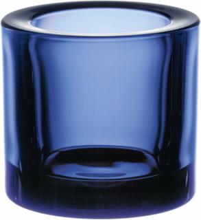 Iittala Kivi ljuslykta 60 mm Ultramarinblå
