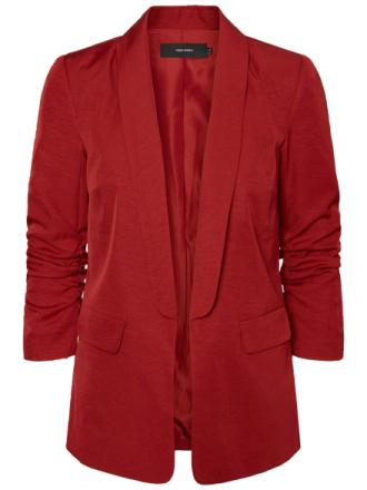VERO MODA 7/8 Sleeved Blazer Women Red