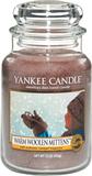 Warm Woolen Mittens, Yankee Candle Doftljus