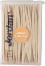 Jordan Wood Dental Sticks Extra Thin Mint 140 stk