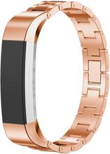 Fitbit Alta klokkereim av rustfritt stål - Rødgull