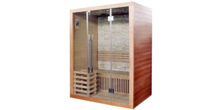 Rocky sauna traditionell bastu