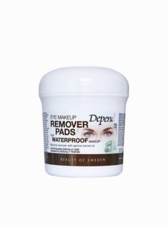Depend Eye Make-Up Remover Pads Waterproof