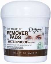 Depend Eye Make-Up Remover Pads Waterproof