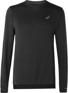 ASICS - Seamless Stretch-jersey T-shirt - Black - XL,ASICS - Seamless Stretch-jersey T-shirt - Black - L,ASICS - Seamless Stretch-jersey T-shirt - Black - S,ASICS - Seamless Stretch-jersey T-shirt - Black - M